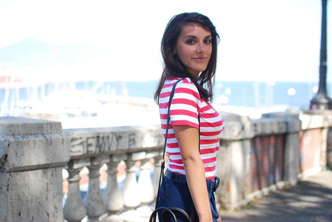 05-chiara-lanero-fashion-blogger-napoli-outfit-stripes-ralph-lauren-dkny-bag