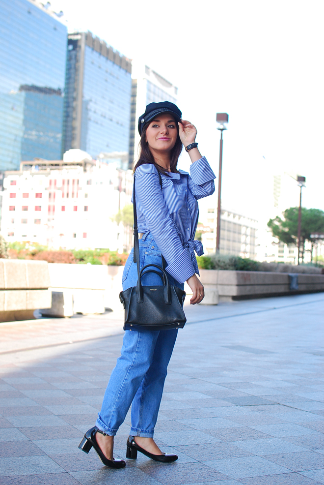06-chiara-lanero-fashion-blogger-napoli-outfit-off-shoulder-trend-shirt-zara-lieutenant-hat