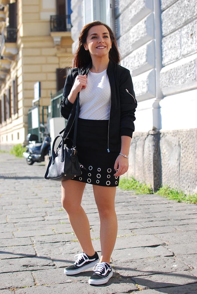 Skirt and sneakers | Chiara Lanero