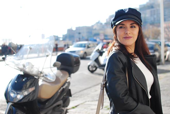 02-chiara-lanero-fashion-blogger-napoli-outfit-fishnet-tights-calzedonia-zara-rock-leather-jacket