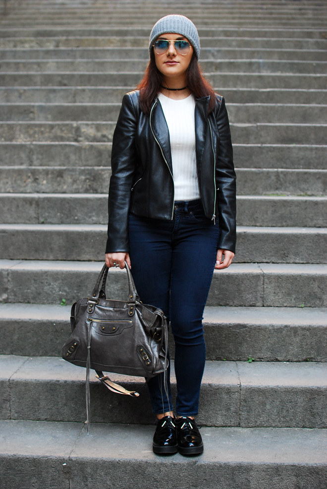 04-chiara-lanero-fashion-blogger-napoli-outfit-rock-biker-jacket-zara-oxford-shoes-black