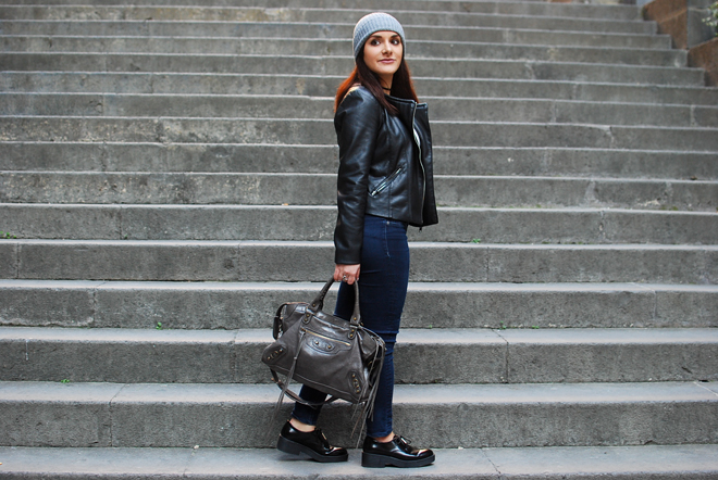 06-chiara-lanero-fashion-blogger-napoli-outfit-rock-biker-jacket-zara-oxford-shoes-black