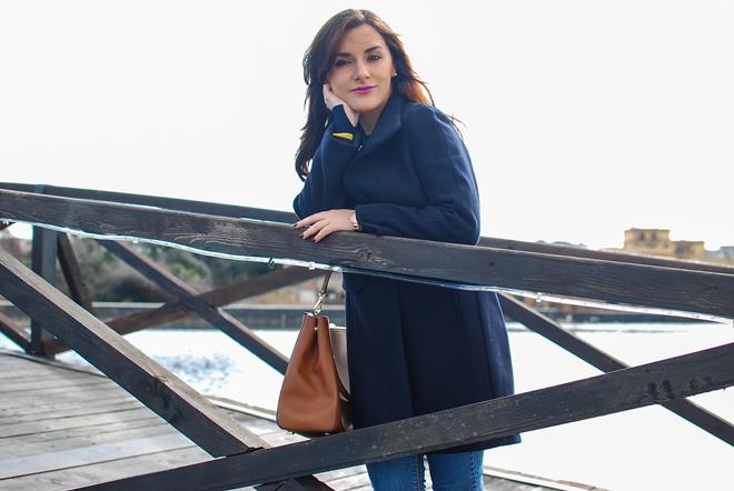 10-chiara-lanero-fashion-blogger-napoli-michael-kors-mango-coat-denim-casina-vanvitelliana