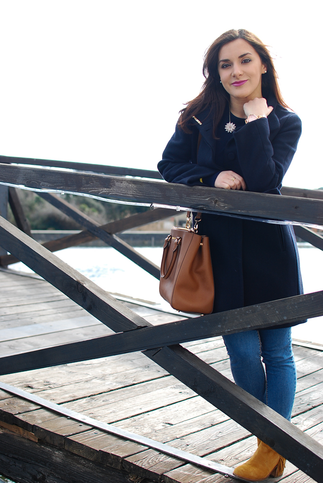 15-chiara-lanero-fashion-blogger-napoli-michael-kors-mango-coat-denim-casina-vanvitelliana