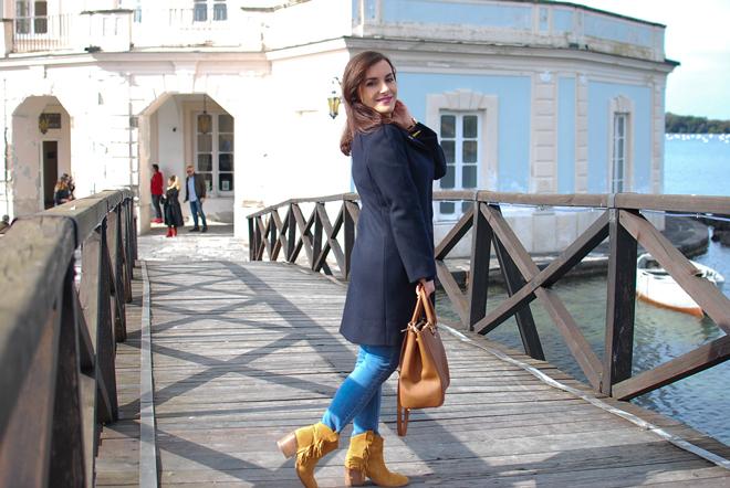 17-chiara-lanero-fashion-blogger-napoli-michael-kors-mango-coat-denim-casina-vanvitelliana